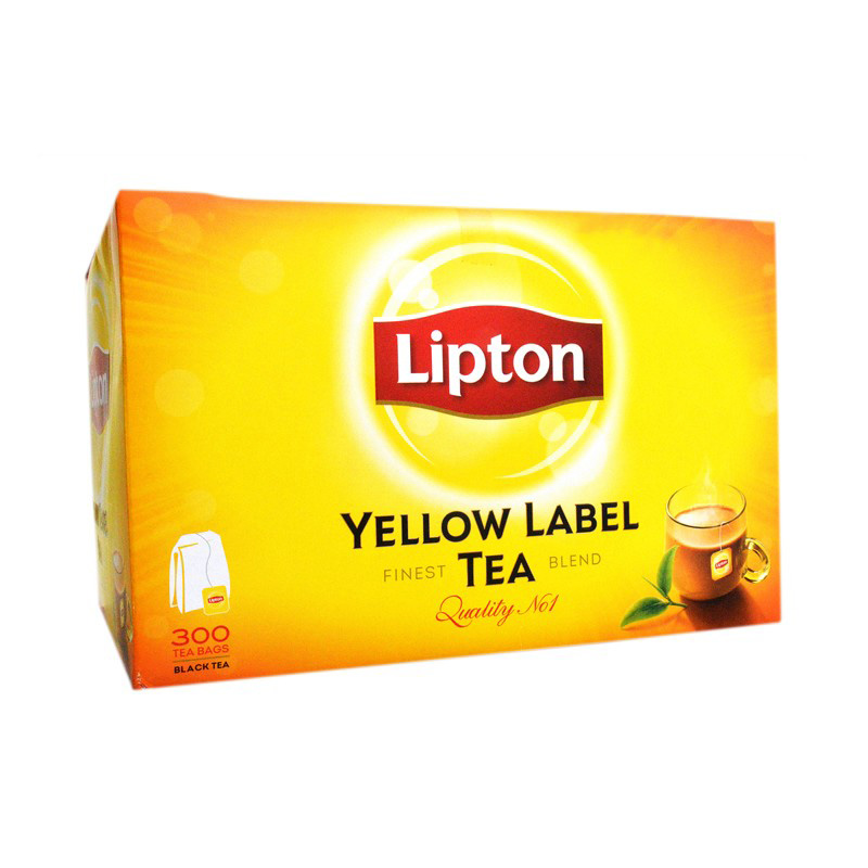 Lipton Yellow Label Tea Bags (Pack Of 300)