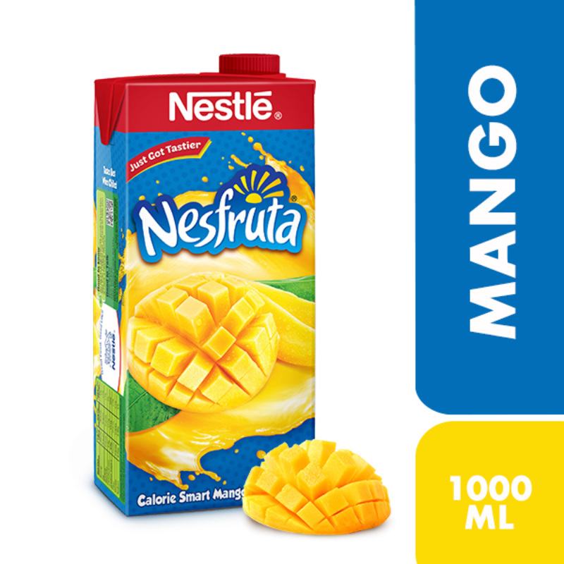 9f7f81ab69658 NESTLE NESFRUTA Mango Fruit Drink - 1000 ml