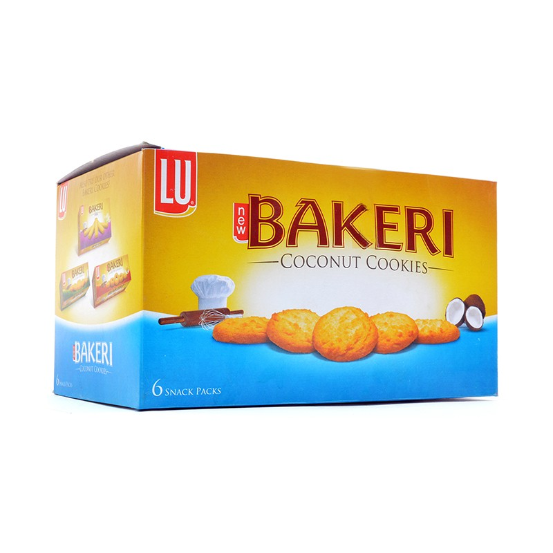 LU Bakeri Coconut Snack pack (Pack of 6)