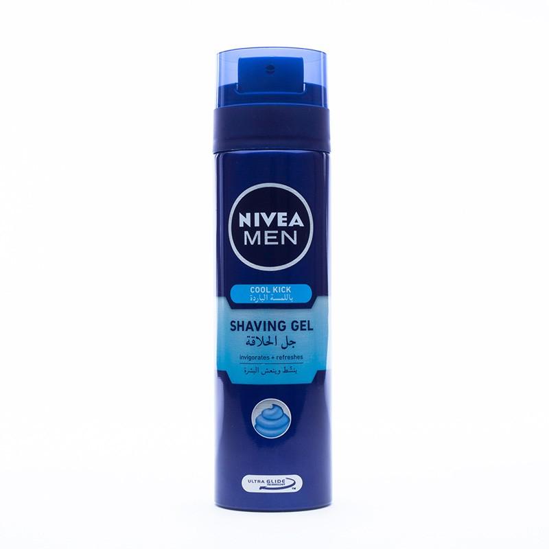 Nivea Men Shaving Gel Cool Kick 200ml