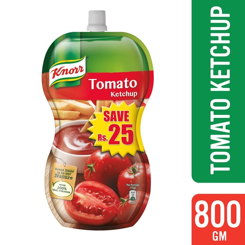 Knorr Tomato Ketchup 800g Pouch