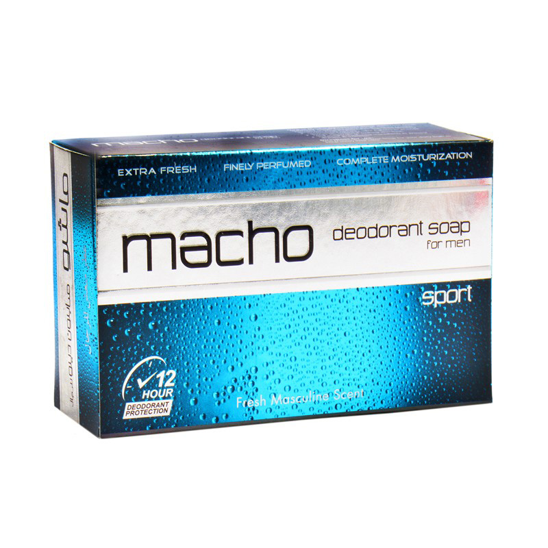 Macho For Men Sport Deodorant Soap 110g