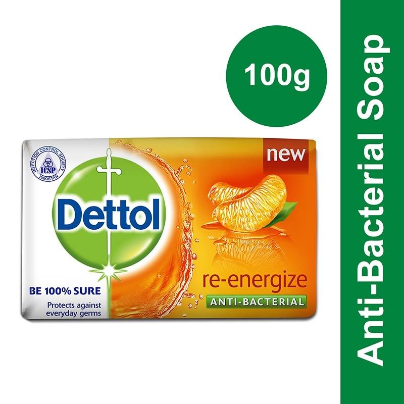 Dettol Re-Energize Soap 100g