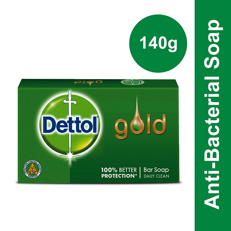 Dettol Gold Daily Clean 140G