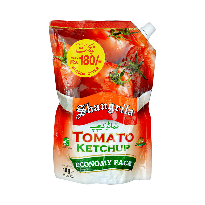 Shangrila Tomato Ketchup Pouch 1kg