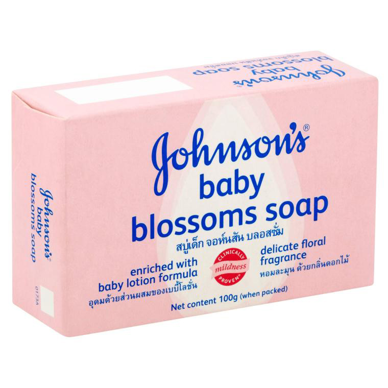 Johnson's Soap Blossoms 100g