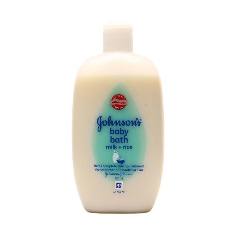 Johnson's Baby Milk Bath 500ml
