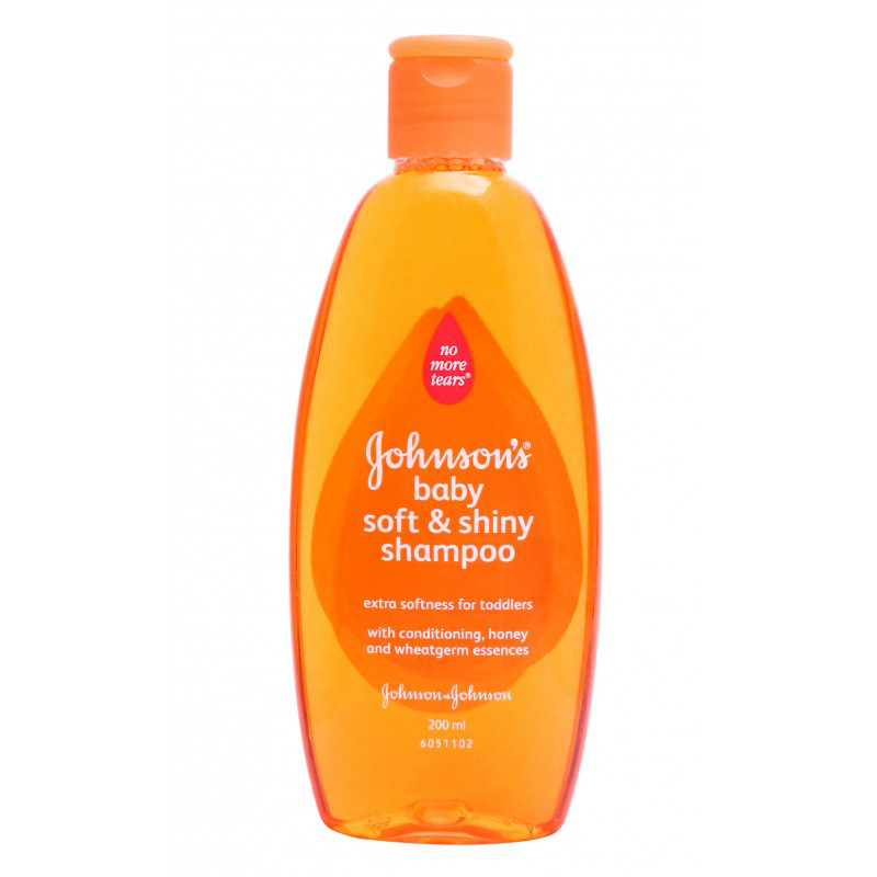 Johnson's Baby Shampoo Wheatgerm 200ml