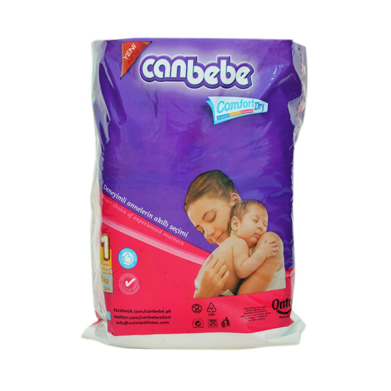 Canbebe Diaper New Born (2-5kg) (Pack Of 10)
