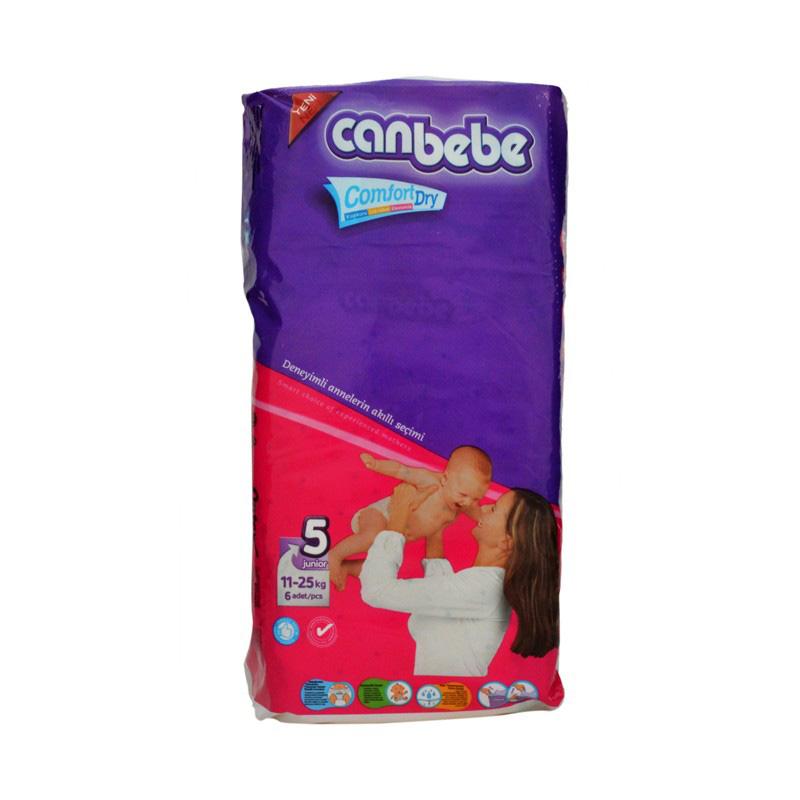 Canbebe Diaper Junior (11-25kg) (Pack Of 6)