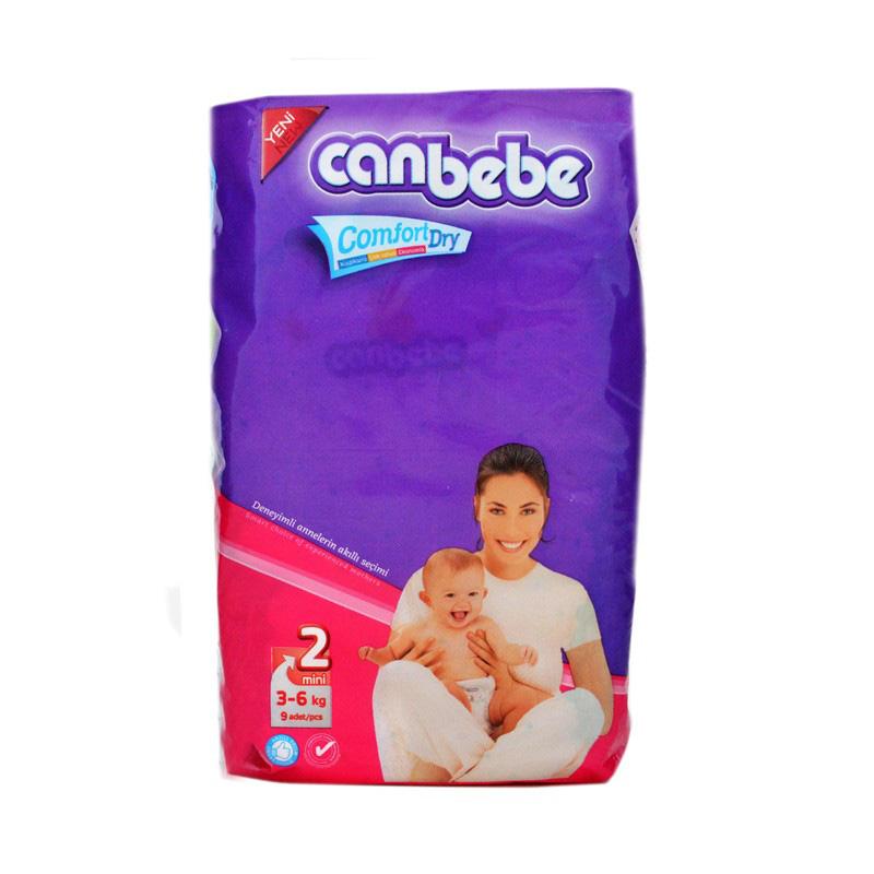 Canbebe Diaper Mini (3-6kg) (Pack Of 9)