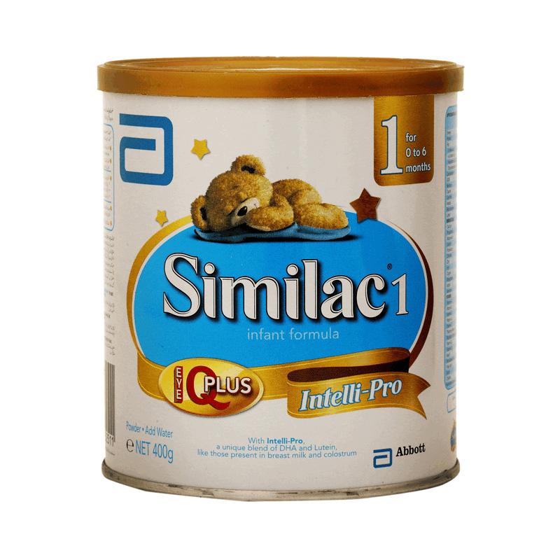 Similac 1 Instant Formula 400g (0-6 Months)