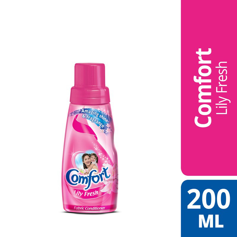 Comfort Fabric Softner Lily Fresh (Pink) 200ml
