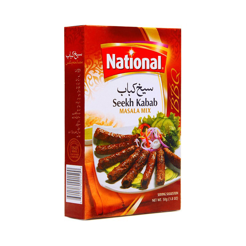 National Recipes Seekh Kabab 50g