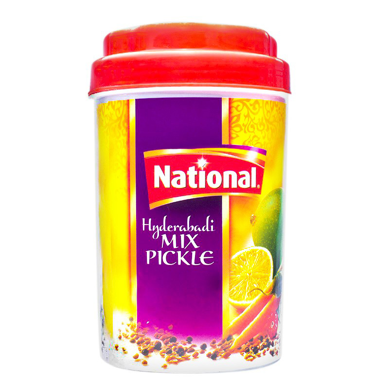 National Pickle Hyderabadi Mix Jar 1kg