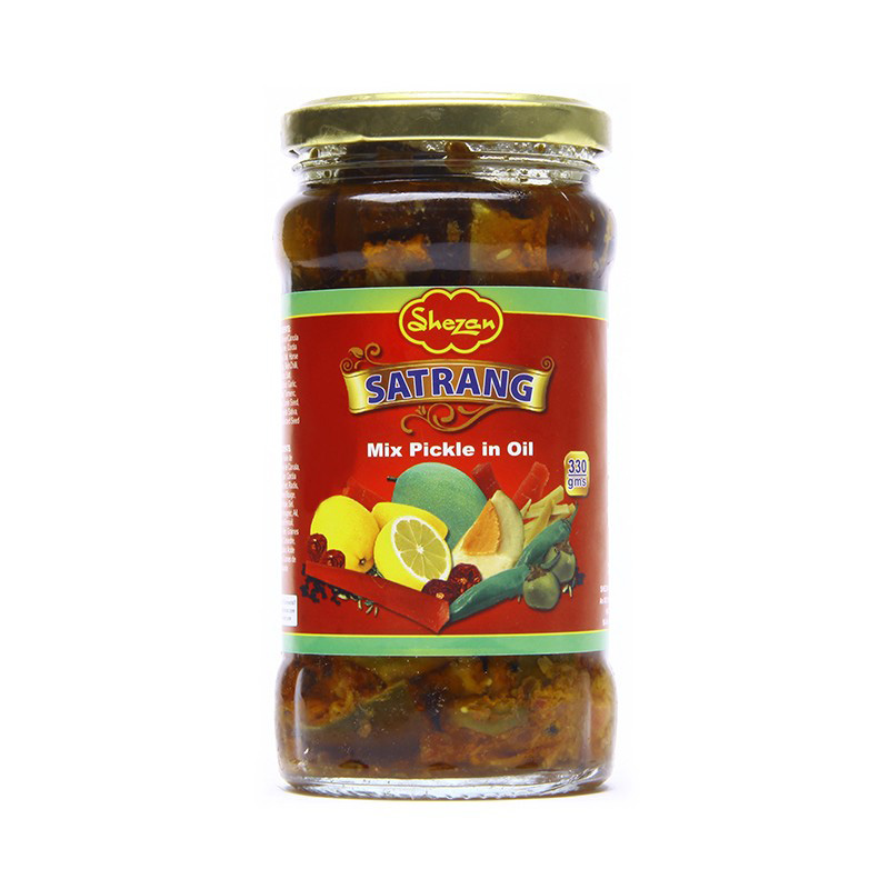 Shezan Pickle Satrang 330g