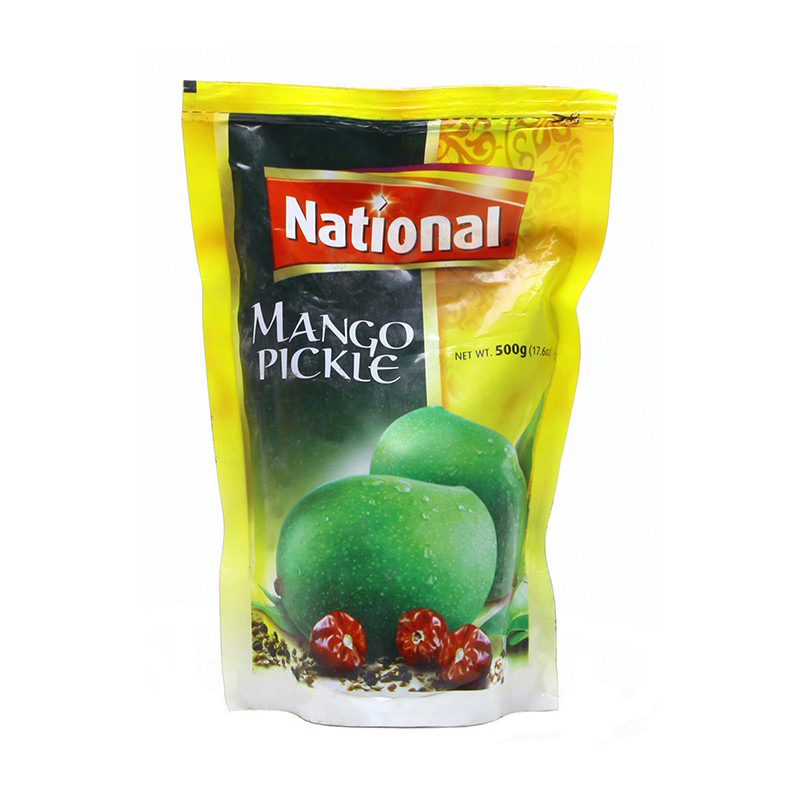 National Pickle Mango Pouch 500g