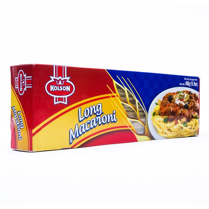 Kolson Macaroni Long Box 450g