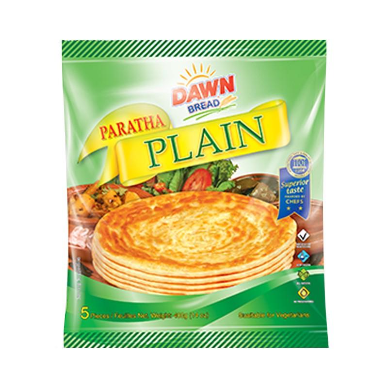 Dawn Frozen Plain Paratha 400g (Pack Of 5)