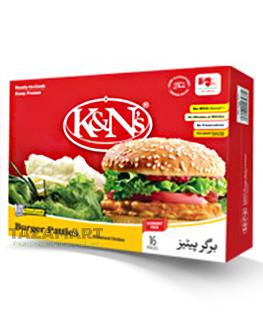 K&N's Burger Patties 370g (Pack Of 6)