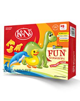 K&N's Chicken Fun Nuggets 265g.