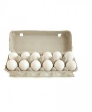 Fresh 12 Eggs - One Dozen