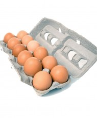 Fresh 12 Desi Eggs - One Dozen Desi