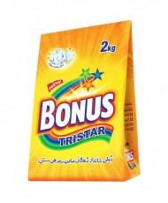 Bonus Tri Star Detergent Powder 2Kg