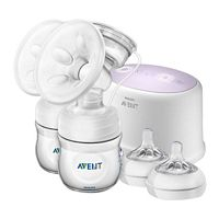 Avent Ultra Comfort Double Electric Breast Pump, 0m Plus