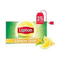 Lipton Green Tea Bags Lemon - 25 Tea Bags