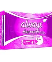 Always Diamond Pads Long - Pack of 16