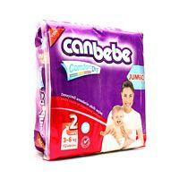 Canbebe Diaper 2 Jumbo Mini 3-6kg Pack Of 72