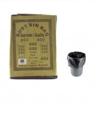 Plastic Garbage Bags Black 400g 24x36