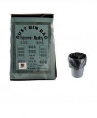 Plastic Garbage Bags Black 400g 18x24