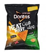 Doritos Heat Wave Tortilla Chips, Chipotle Cream 150grams